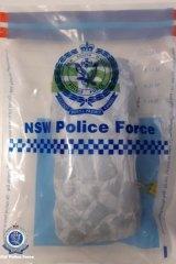 Organised crime squad detectives seized 1 kilogram of opium at Menangle.