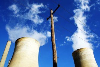 AGL's energy generation business has been hit by lower wholesale power prices.