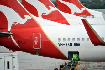 Qantas will stand down two-thirds of its 30,000 workforce as the travel industry suffers through the coronavirus pandemic.