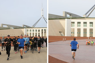 There and back: Liberal MP Tim Wilson's very short-lived commitment to the world of Indigenous fitness.