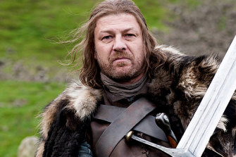 Sean Bean as Ned Stark in season 1.