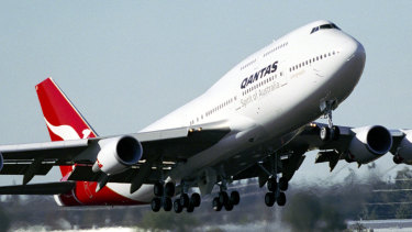 """Qantas will use the so-called """"queen of the skies"""", the 747, to cover some domestic routes."""