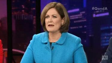 Liberal MP for Corangamite Sarah Henderson.