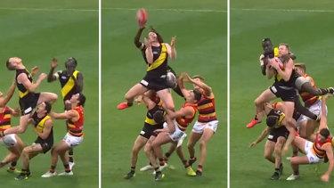 JackRiewoldttakes his spectacular mark.