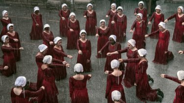 A scene from The Handmaid's Tale.