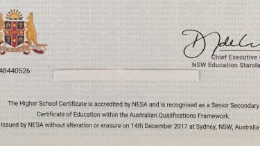 More than 69,000 year 12 graduates have received HSC certificates with the wrong date.