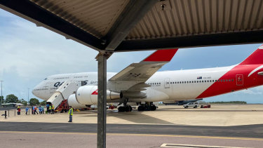 Qantas flights will run repatriation flights for Australians to quarantine in the Northern Territory.