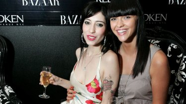 Origliasso and Rose during Australian Fashion Weekl on April 29, 2008 in Sydney.