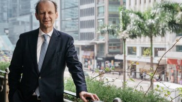 ANZ chief executive Shayne Elliott in Hong Kong.