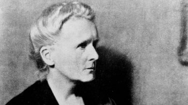 Physicist and chemist Marie Curie, who conducted pioneering research on radioactivity.