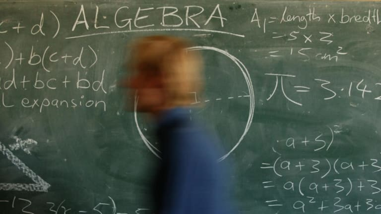 More than 75 per cent of students will be taught maths by an out-of-field teacher at least once between years 7 and 10.