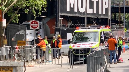'Concrete bullets': Workers injured after Southbank worksite explosion