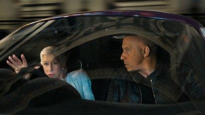 Honk if Helen Mirren and Vin Diesel should have kissed in F9