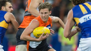 Lachie Whitfield has returned to the playing field with a new role.