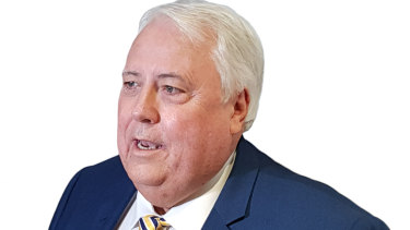 Clive Palmer has lodged another claim.