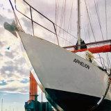 Glenn Druery's yacht Aphelion.