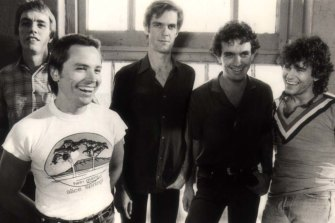"A very young Cold Chisel (with Don Walker centre). ""We thought we were really good."""