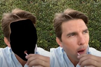 A Youtube video explained how the faked Tom Cruise video that went viral on TikTok as made.