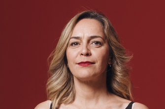 Contender: Clothilde Bullen, who is the MCA's senior curator of Aboriginal and Torres Strait Islander collections.