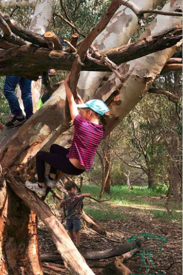 Nature Detectives encourages nature-based play during the school holidays.