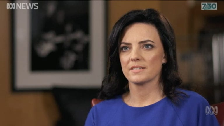 Emma Husar has told Leigh Sales she decided not to recontest the next election because of the extraordinary media attention around the harassment claims made against her.