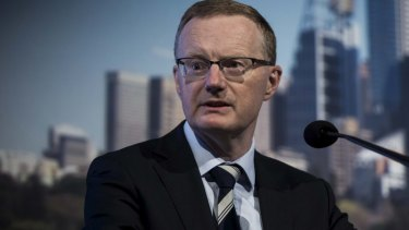RBA Governor Philip Lowe faces concerns about rising household debt.