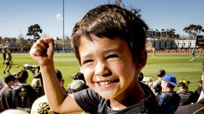 Little Tiger is Richmond's good luck charm