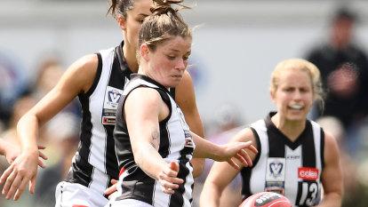 Collingwood win first women's premiership in VFLW grand final triumph