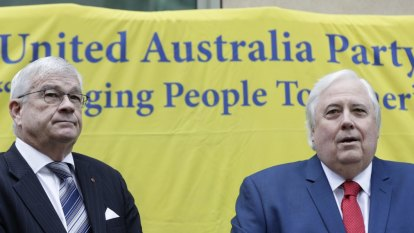 Brian Burston defends Clive Palmer saying he 'has a kind heart'
