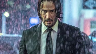 Keanu Reeves in John Wick: Chapter 3 Parabellum