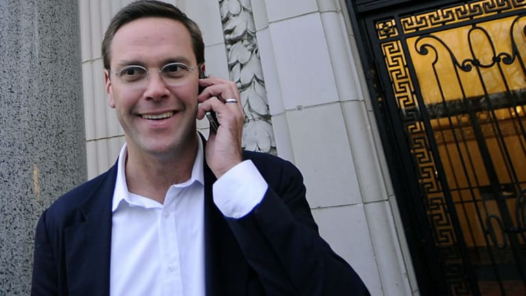 James Murdoch was reported to be at the front of the queue to replace Elon Musk as Tesla chairman.