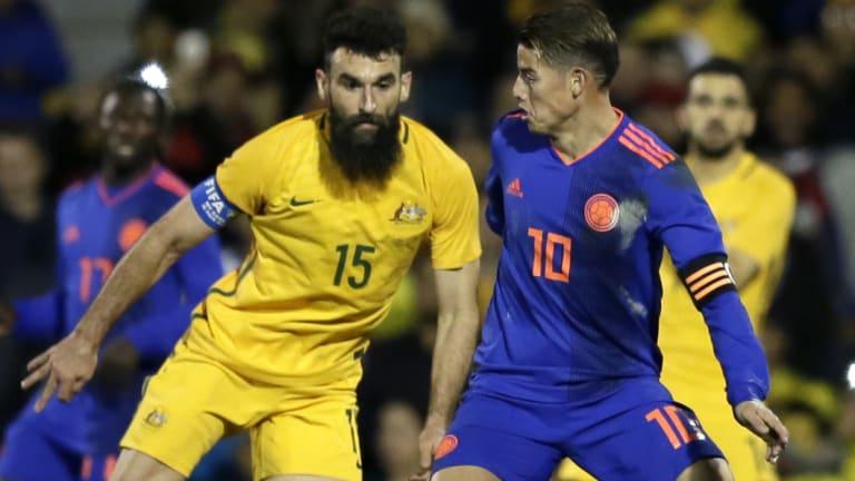 Socceroos skipper Mile Jedinak played the full 90 minutes for Villa.