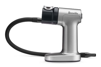 Breville's smoking gun lets you infuse food and drink with applewood or hickory smoke flavour without the smokehouse.