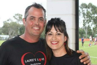 Laurie and Julie Pavone. Laurie died just 10 months after being diagnosed with GBM.