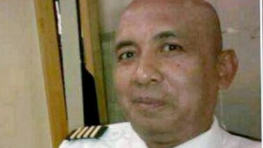 MH370 captain Zaharie Ahmad Shah.