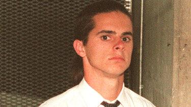 Matthew de Gruchy in 1996.