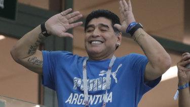 Diego Maradona.