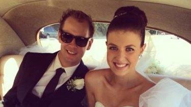 Ryan Messenger and his wife Alexandra.