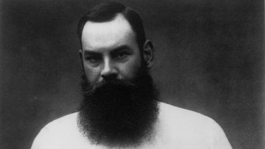 The readily identifiable WG Grace.