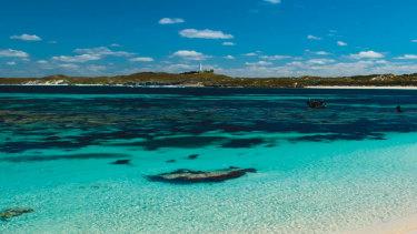 Rottnest Island, off the coast of Western Australia.