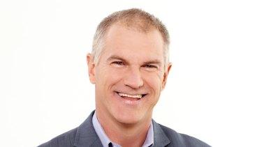 Former Seven Network presenter Simon Reeve.