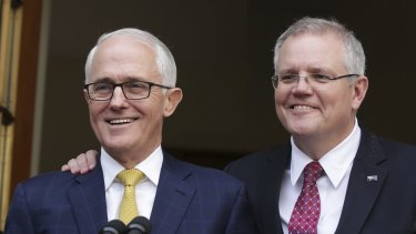 "One year on from Scott Morrison's win over Malcolm Turnbull he says: ""Frankly, anniversaries I find quite narcissistic so I tend to not engage in that sort of self-assessment."""