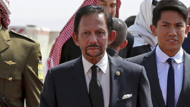 The Sultan of Brunei, Hassanal Bolkiah, was assigned several Queensland police officers as part of his security during his APEC visit.