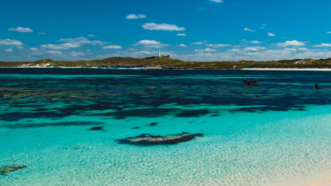 Rottnest Island, off the coast of Western Australia.