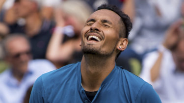 Tricky assignment: Nick Kyrgios will face Denis Istomin.
