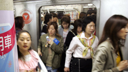 'Stop it!': Anti-groping app a big hit for Japanese commuters