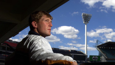 Mat Inness in his cricket days.
