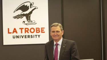 John Brumby will become Chancellor of La Trobe University in March.