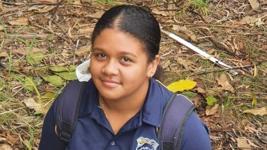 Teyah Han, 12, normally would play rugby league for her school and club.
