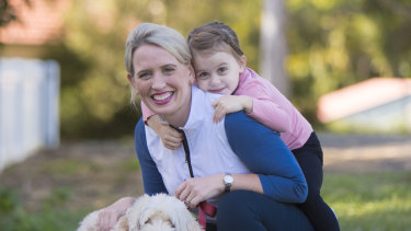 Kate Jones and daughter Grace Cronin in 2018.